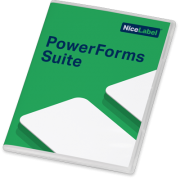 NiceLabel Etikettensoftware PowerForms Suite 2017 (10 Drucker)
